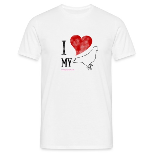 I LOVE MY PIGEON (Mens Classic) - Men's T-Shirt