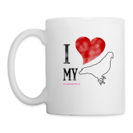 Mugs & Drinkware ~ Mug ~ I LOVE MY PIGEON (Left Handed Mug)
