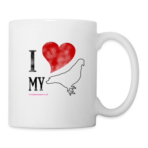 I LOVE MY PIGEON (Right Handed Mug) - Mug