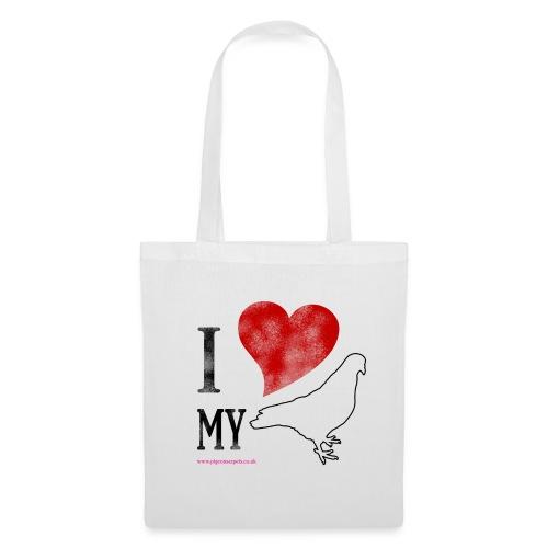 I LOVE MY PIGEON Tote Bag - Tote Bag