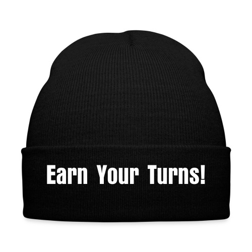 Earn  Your Turns Beanie  - Vinterlue