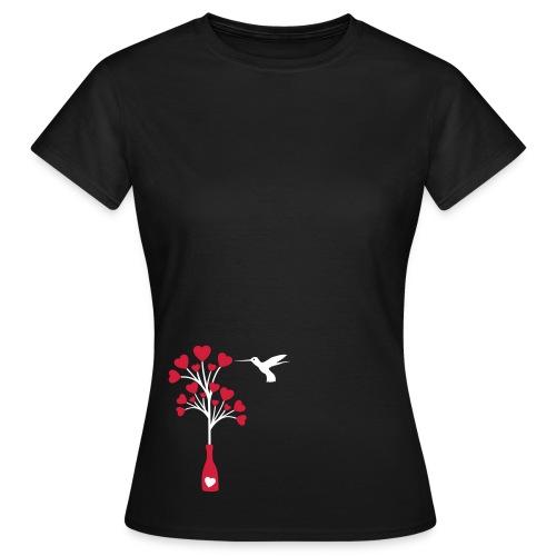 shirt - tbog - love bird - Frauen T-Shirt