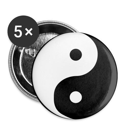 Ying Yang  - Spilla media 32 mm