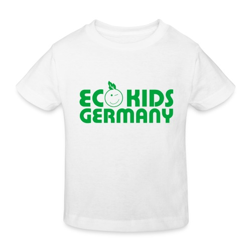 Eco Kids Germany Bio-Shirt Kids weiß mit Logo - Kinder Bio-T-Shirt