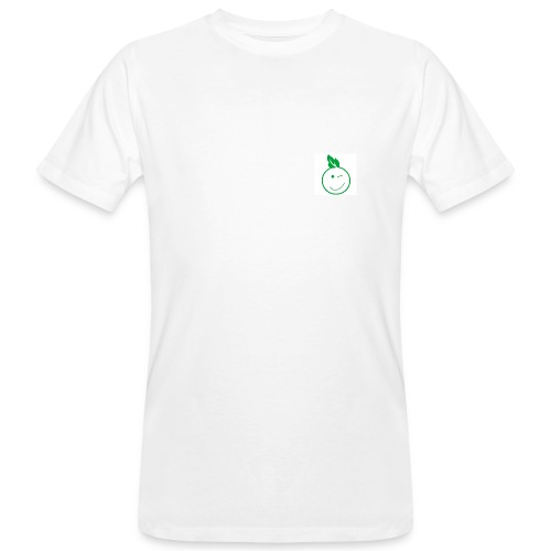 Eco Kid Bio-Shirt Men weiß mit Icon - Männer Bio-T-Shirt