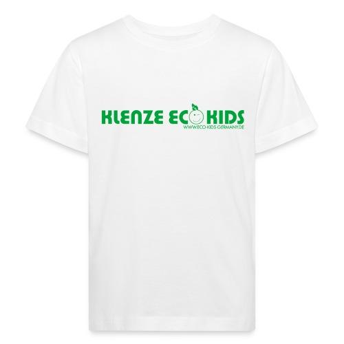 Klenze Eco Kids Bio-Shirt Kids weiß mit Logo - Kinder Bio-T-Shirt