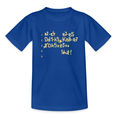 Shit 2-seitig  - Teenager T-Shirt