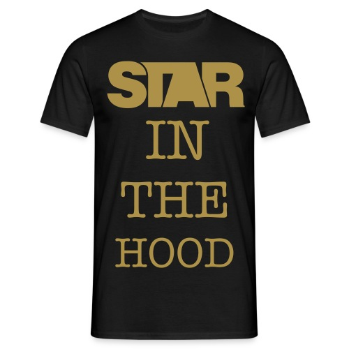 STAR IN THE HOOD - Men's T-Shirt