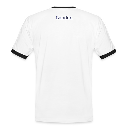 London Men's Contrast Navy - Men's Ringer Shirt