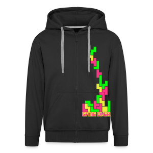 T-Over (Neon) - Men's Premium Hooded Jacket
