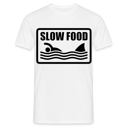 Slow Food - Mannen T-shirt