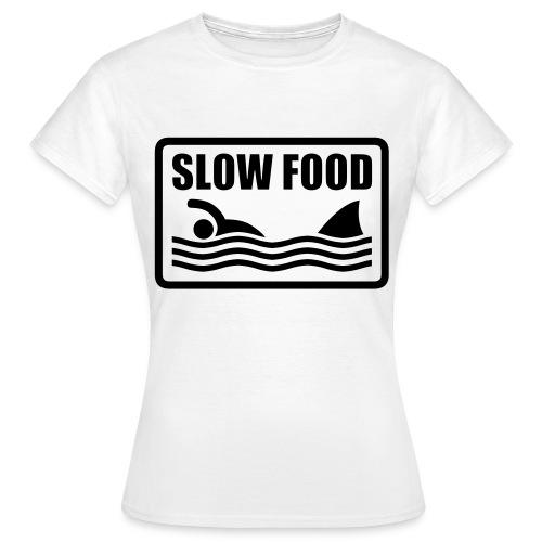 Slow Food - Vrouwen T-shirt