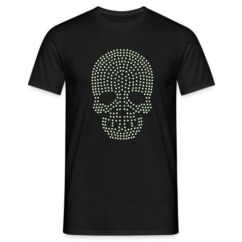 DOT-SKULL-FLUO|T-shirts  biker - T-shirt Homme