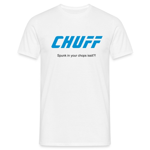 Chuff Agent - Men's T-Shirt