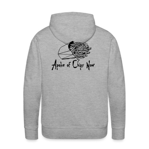 A poke of Chips Now - Men's Premium Hoodie