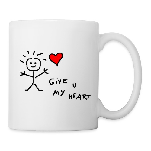 Give you my Heart  - Tasse