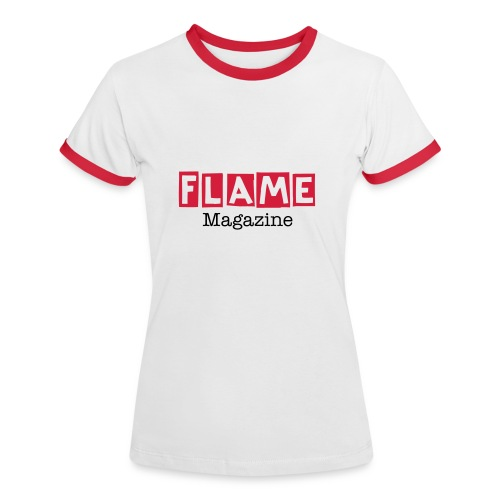 FLAME Magazine Cool T-Shirt - Women's Ringer T-Shirt