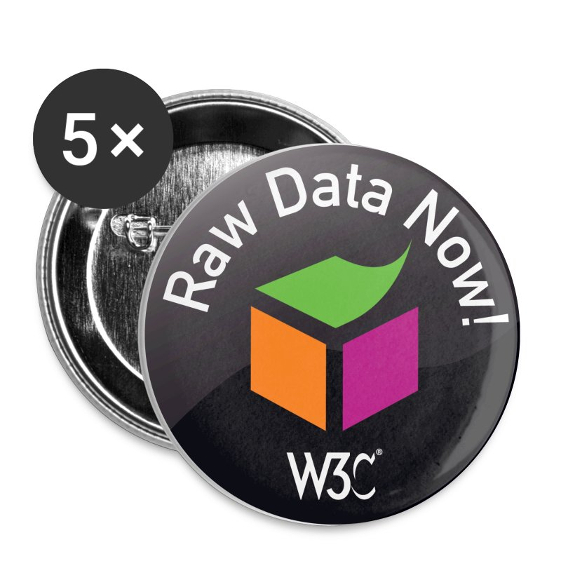 sw_black_badges - Buttons small 25 mm