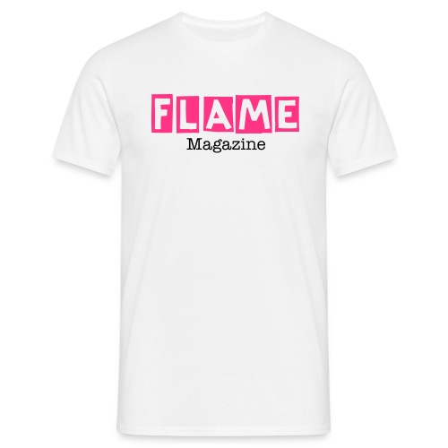 FLAME Magazine - Photographer T-Shirt - Men's T-Shirt
