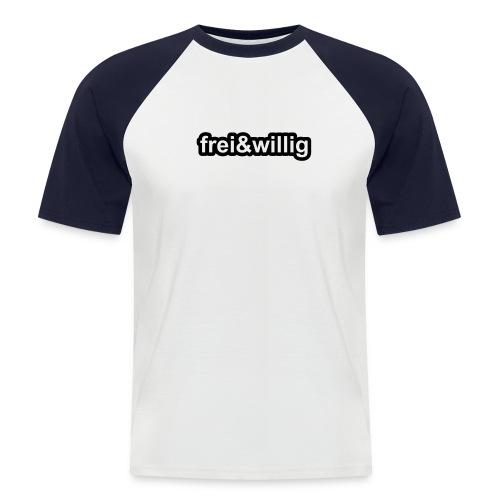 Liebe, Sex und Zärtlichkeit - Männer Baseball-T-Shirt