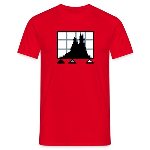 Levels, röd - T-shirt herr
