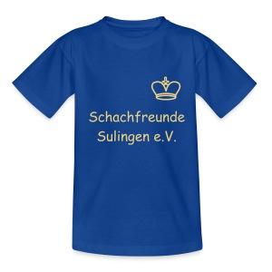 Schach - König Kinder T-Shirt - Teenager T-Shirt