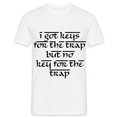KEYS 4 DA TRAP [MENS] - Men's T-Shirt