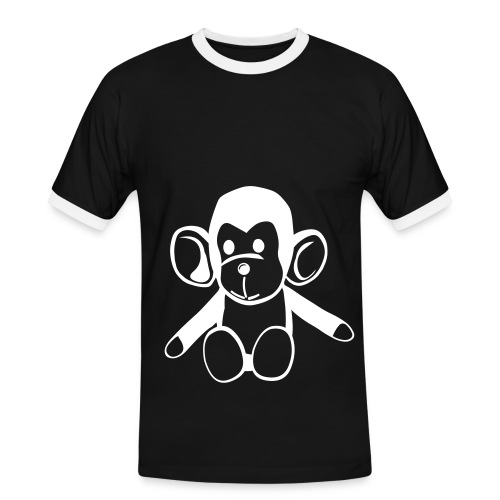 Monkey T-shirt - Men's Ringer Shirt