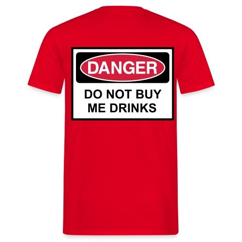 Danger - Medema shirt - T-skjorte for menn