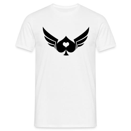 Windged Spade - Men's T-Shirt