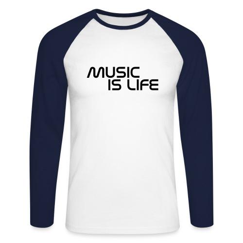 Music - Mannen baseballshirt lange mouw