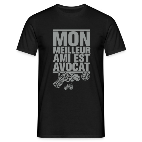 Mon meilleur ami est avocat - T-shirt Homme