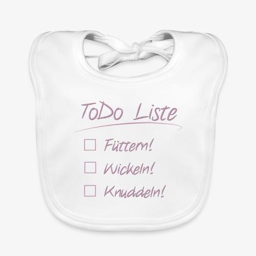 ToDo-Lätzchen - Baby Bio-Lätzchen