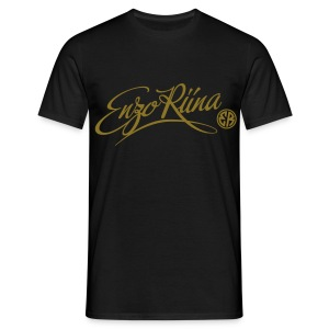 The Script White/Gold - T-shirt Homme
