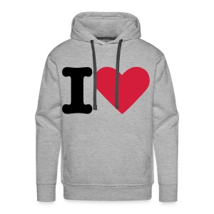Love to love. - Men's Premium Hoodie