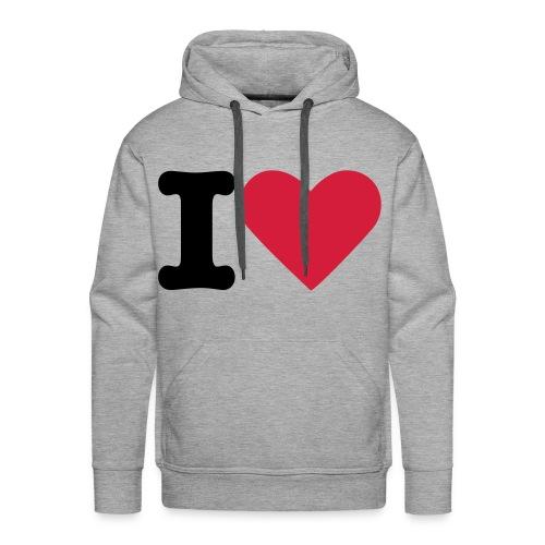 Love to love. - Men's Premium Hoodie