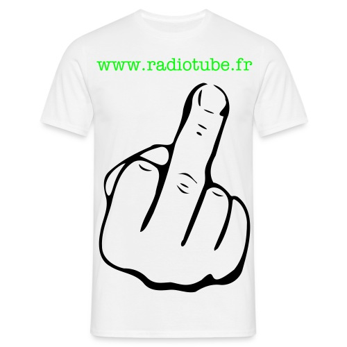 fuck by radiotube - T-shirt Homme