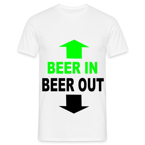 T-Shirt -  Beer - Miesten t-paita