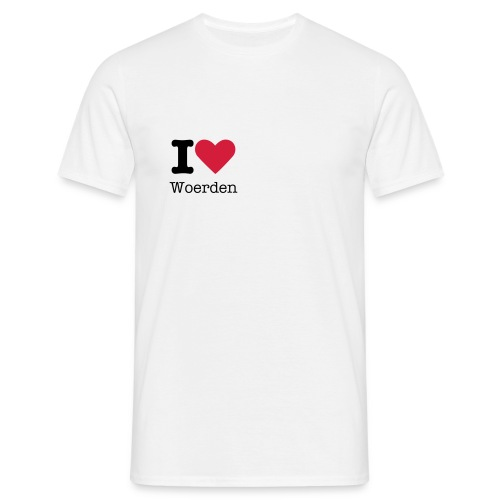 I Love Woerden Man - Mannen T-shirt