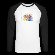 Langarmshirts ~ Männer Baseballshirt langarm ~ Artikelnummer 13205954