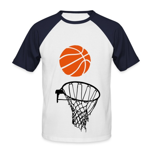 Basketball - T-shirt baseball manches courtes Homme