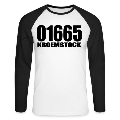 01665 - Männer Baseballshirt langarm