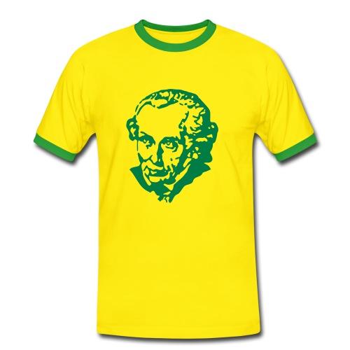 Auch was nettes... - Männer Kontrast-T-Shirt