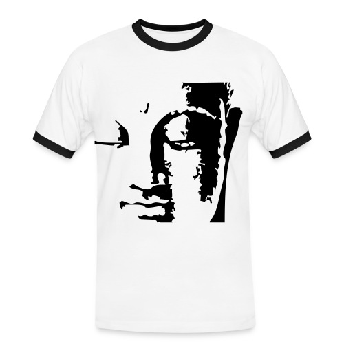 Einen Buddha obendrauf ! - Männer Kontrast-T-Shirt
