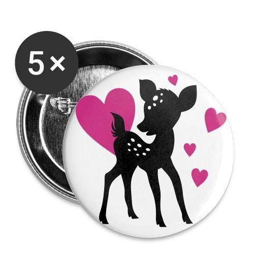 Bam-jr-bi - Buttons groß 56 mm (5er Pack)