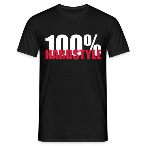 100% Hardstyle - Herre-T-shirt