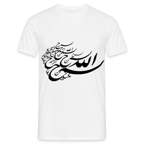 T-Shirt Calligraphié - T-shirt Homme