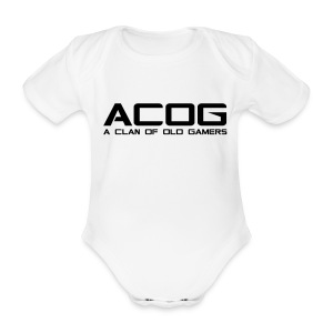 ACOG New Recruits - Organic Short-sleeved Baby Bodysuit