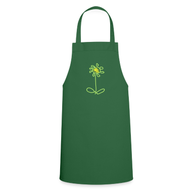 Green Blume / flower (2c)  Aprons