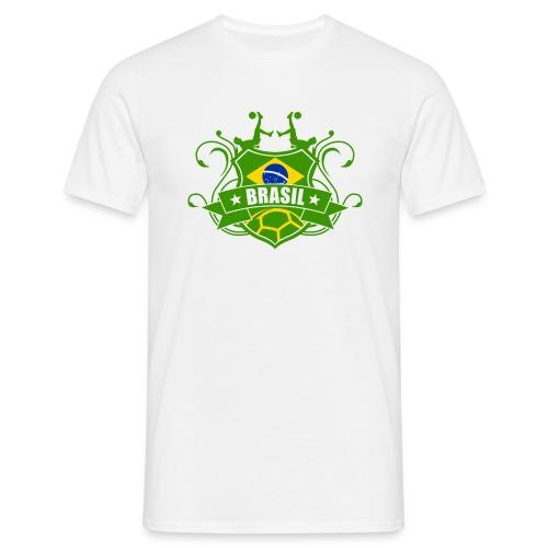 BRASIL maillots de football - T-shirt Homme
